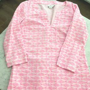 Vineyard Vines adorable Pink Fish Dress. Size XS